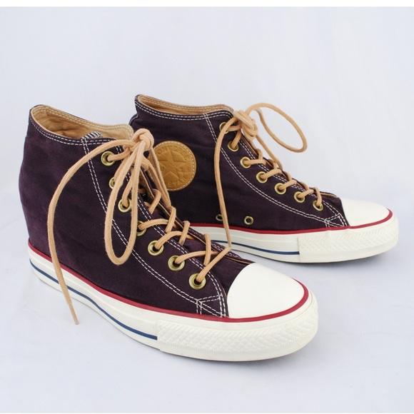 0a1363b15a6 Converse Shoes - Converse Women s Black Cherry Chuck All Star Wedge